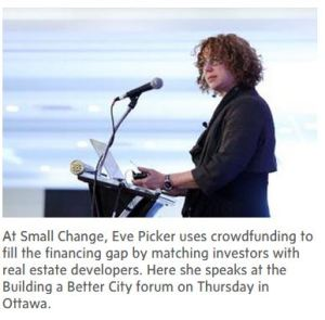 Eve picker small change - Bank On It Podcast:  Turning a Funding Failure Into a Win