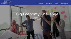 Gig economy challenge - Bank On It Podcast:  Turning a Funding Failure Into a Win