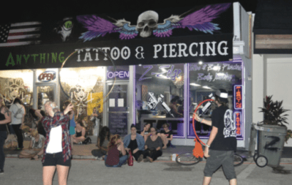 $30 tattoos and $10 piercings bring hundreds of students to Z-edge