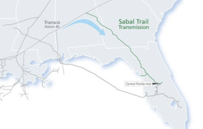 Sabal Trail pipeline construction underway