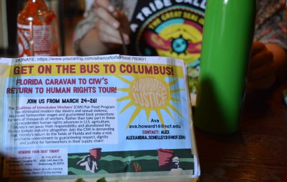 CIW hosts fundraiser for  upcoming ColumBUS