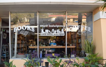 Shelf Indulgence: A book store, coffee shop, and study space