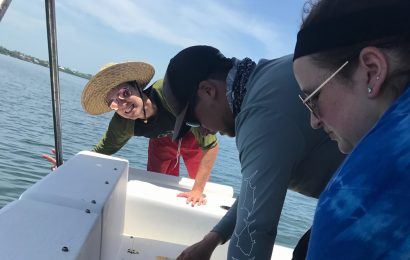 Students partner with NOAA for undergraduate thesis research