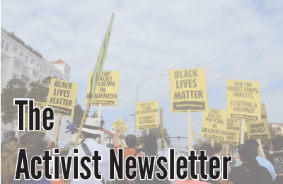 The Activist Newsletter (10/25 – 11/2)