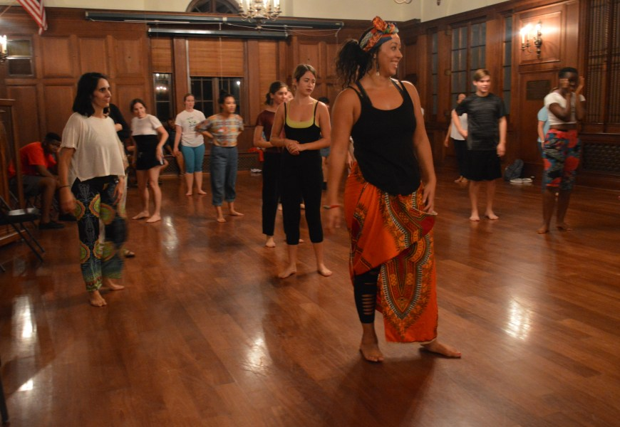 West African Dance class hints at increasingly diverse curriculum