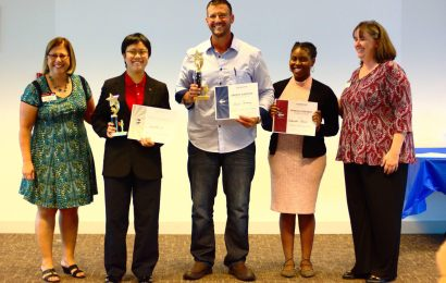 Jennifer Lin awarded second place in Division G Toastmasters competition