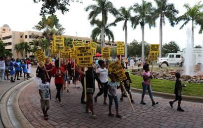 Community members accuse Sarasota Police Department of brutality