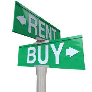 rent versus buying