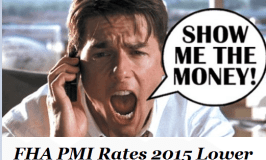 FHA PMI Rates 2015