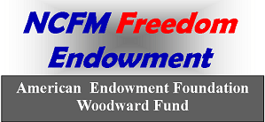 Freedom Endowment woodward logo