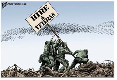 hire a veteran.
