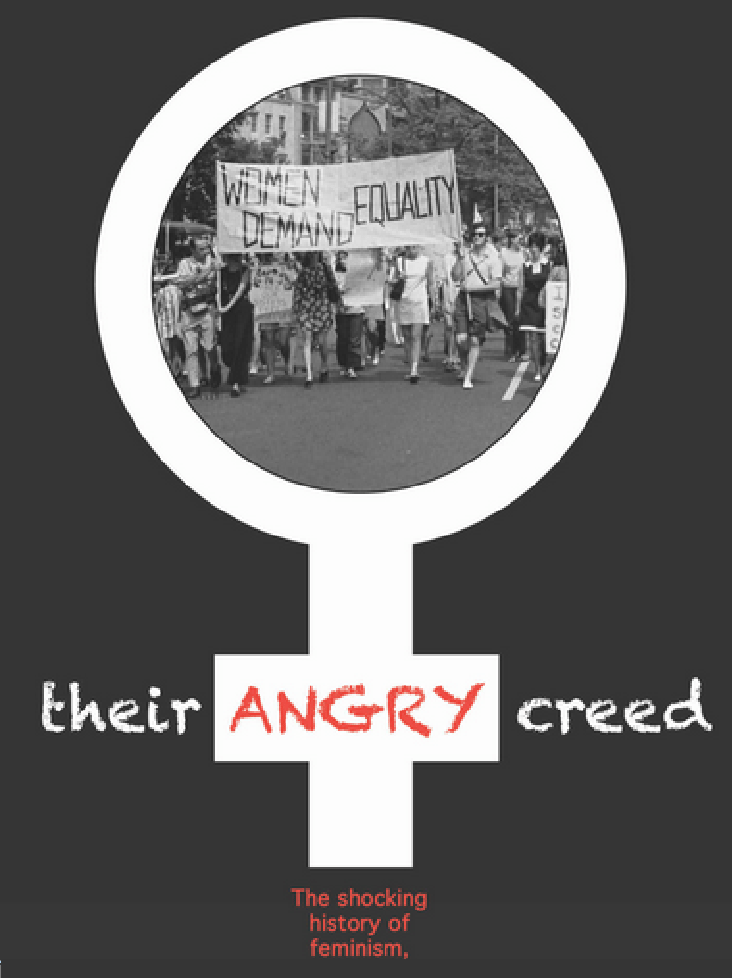 NCFM PR Director Steven Svoboda book review, three thumbs up for Their Angry Creed: The Shocking History of Feminism and How it is Destroying Our Way of Life.