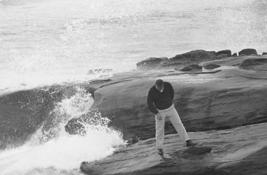 Palmer on the Rocks   The King  at Pebble Beach The treacherous 17th hole at Pebble Beach golf course cost Arnold Palmer  two strokes  Jan
