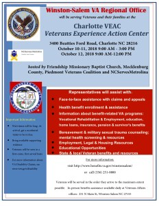 """VA Benefit Briefing/Resource Fair and Artistic Reading of """"Run No More"""" presented by the NC Black Repertory Company @ Southeastern Center for Contemporary Art 