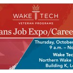 October 11 – Veterans Job Expo & Career Fair