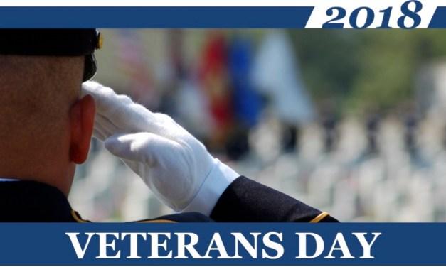 11/7 – Veterans Day Ceremony – Wake Tech CC