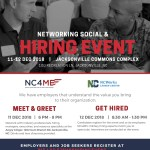 12/12 – NC4ME Hiring Event