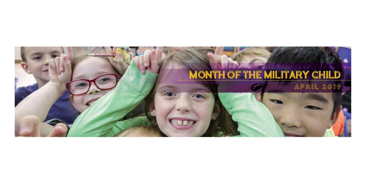 April as Month of the Military Child