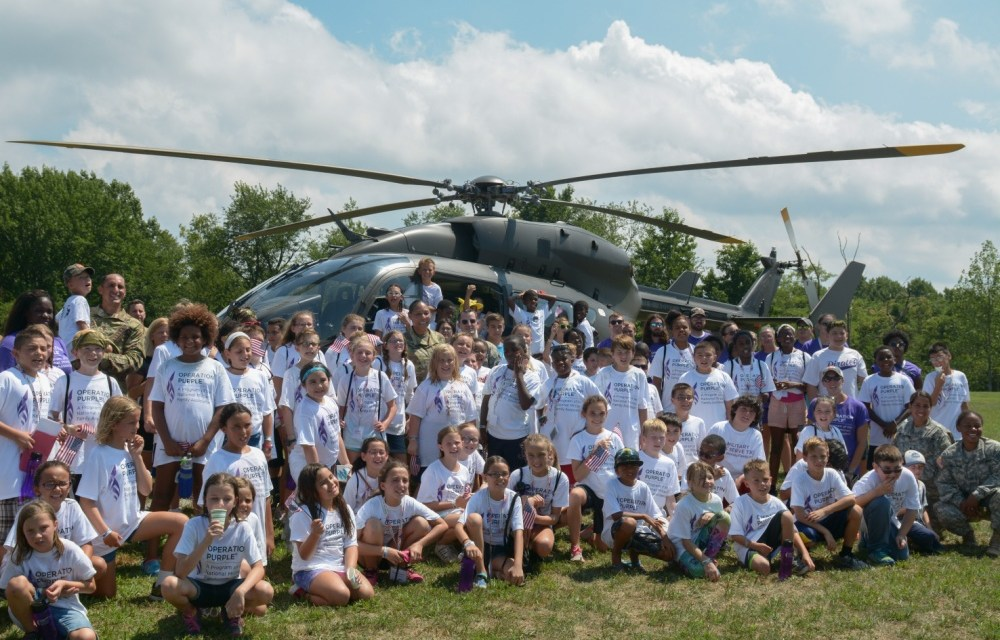 Apply now for Operation Purple Camp for your child!