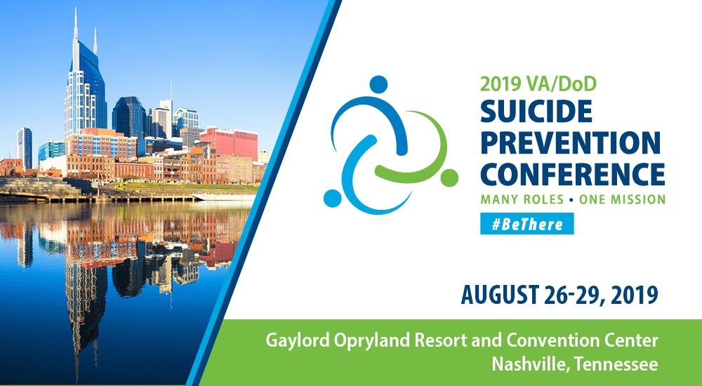 2019 Suicide Prevention Conference in Nashville, TN