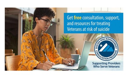Supporting Providers Who Serve Veterans with Suicide Prevention Resources