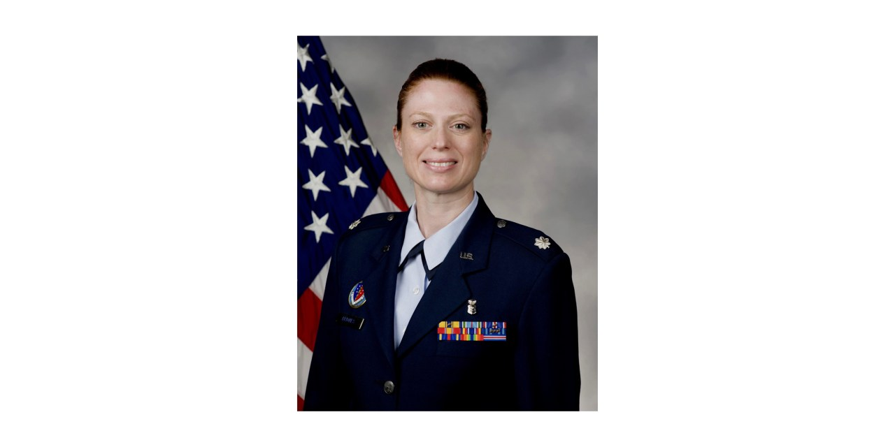 First Female Takes Command as AFMES Director