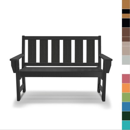 Hatteras Bench - multicolor blocks