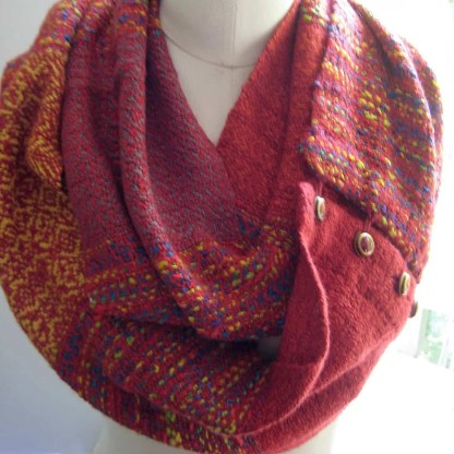 Primary colors infinity scarf