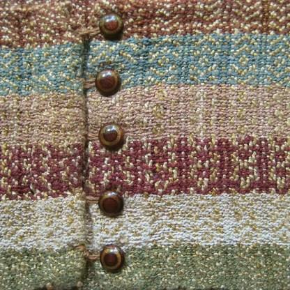 Earthtone infinity scarf