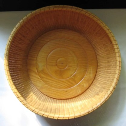 "15"" Nantucket tray basket"