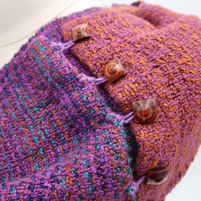 infinity scarf purple
