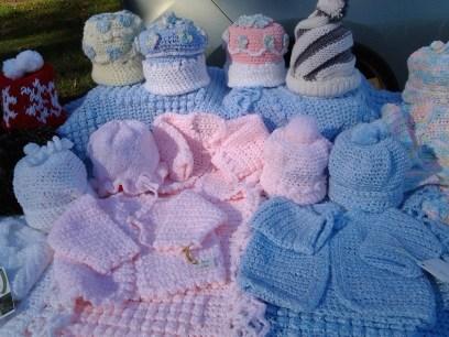 Alma Sutton: knitted babywear