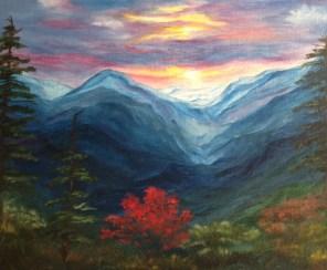 Michelle Ellis: My Mountain Studio