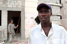 Much of the construction is done by Haitian and Dominicans