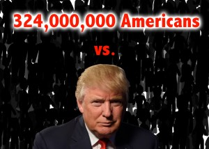 324,000,000 represents a rounded number of U.S. citizens. Graphic by Holly Santero
