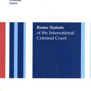 Rome Statute Cover