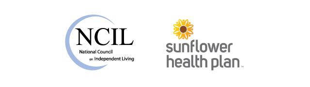 Sunflower Health Plan and NCIL Logos