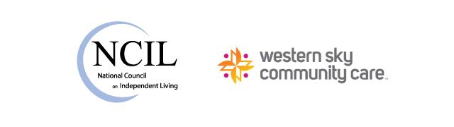 Western Sky Community Care and NCIL Logos