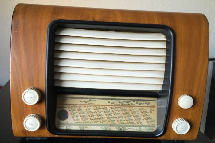 Retro radio med Raspberry Pi