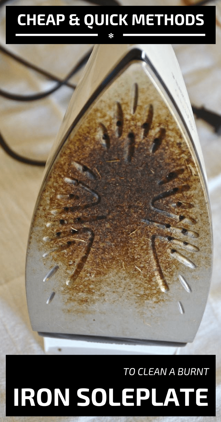 Cheap And Quick Methods To Clean A Burnt Iron Soleplate