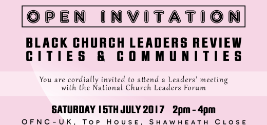 Open Invitation to NCLF Roadshow - Manchester
