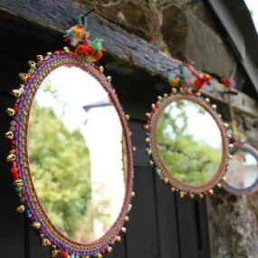 boho mirrors