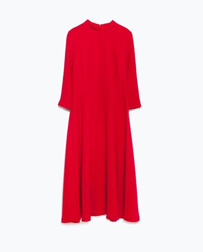 high neck dress