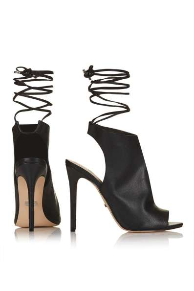 ROBYN ankle-tie sandals TOPSHOP S:S 16