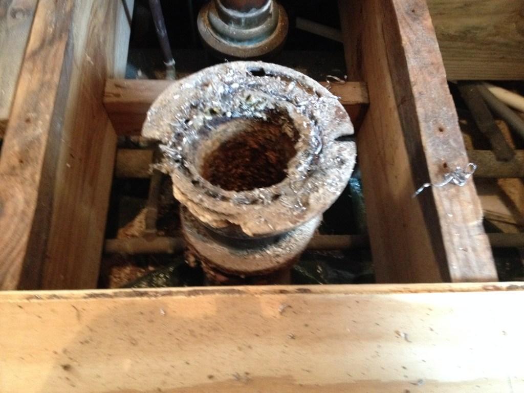 Toilet Flange Repair   NC Master Plumber, LLC