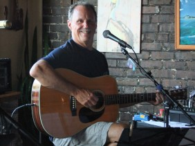 Rick Huff live at The Brown Pelican