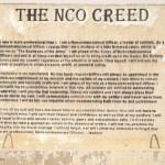 NCO Creed SNAFU