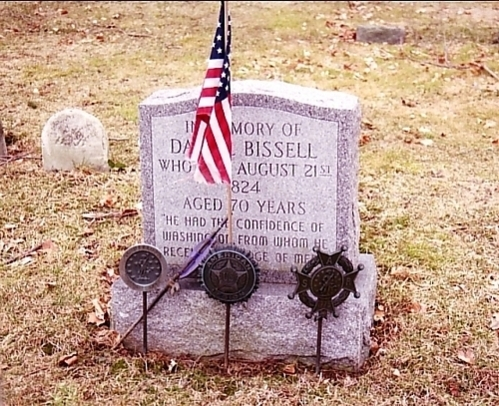 SGT Daniel Bissell tombstone