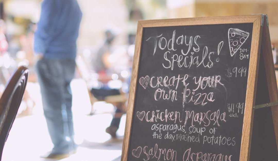 7 Special Menu Ideas For Restaurants