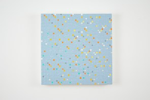 Gregory Hayes, Primary Array #10007, acrylic on board, 12X12in, 2010
